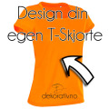 Design din egen T-skjorte dame