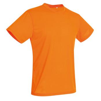 T-skjorte Herre Oransje Active Cotton